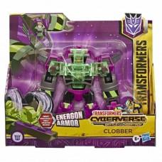 Игровой Робот Трансформер для мальчиков Клоббер с оружием и броней Кибервселенная Битва за Кибертрон, Hasbro