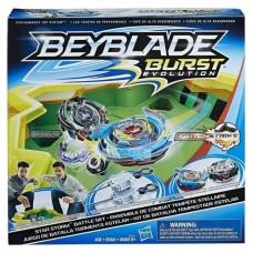Детский Игровой Набор Арена Звездная буря и 2 волчка Бейблейд - Burst Evolution Star Storm Battle Set, Hasbro