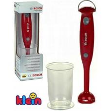 Детский Игрушечный Блендер для игровой кухни со звуковыми эффектами, мерным стаканом, красный - Bosch Klein