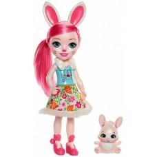 Большая Кукла для девочек Бри Кроля Энчантималс (31 см) и питомец Зайка Твист - ENCHANTIMALS, Bree Bunny & Twist