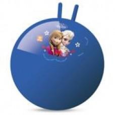 Мяч Попрыгун для детей надувной, с двумя ручками D=45-50см Холодное сердце, цвет: синий - Disney Frozen, Mondo