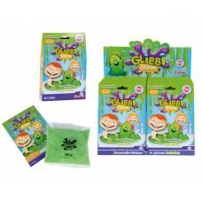 Набор Для Творчества и игр Зеленая Слизь-желе для детской ванны или бассейна на 30 литров воды Glibbi Глибби