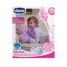 Детский Ночник Плюшевый мишка со световыми и звуковыми эффектами со съемным музыкальным блоком Chicco Чико