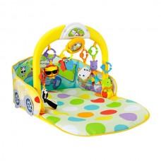 Детский Развивающий Музыкальный Игровой Комплекс Коврик Кабриолет 3в1, 6 игрушек, съемные дуги Fisher-Price
