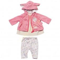 Детский Игровой Набор Одежды для Куклы Бэби Аннабель Платье и куртка с капюшоном Baby Annabell ZapfCreation