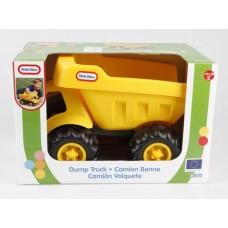Игрушка Детская Для Мальчиков Пластиковый Грузовик-самосвал желтый, большие колеса Little Tikes Литтл Тайкс