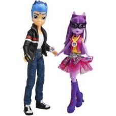 Игровой Набор из 2 кукол Твайлайт Спаркл и Флэш Сентр Мой Маленький Пони - My Little Pony Equestria Girls Hasbro