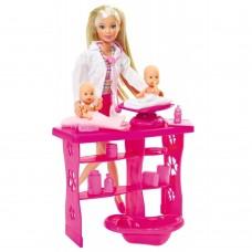Игровой Набор Детский доктор с Куклой Штеффи и двумя младенцами с аксессуарами - Steffi Love Baby Doctor Simba