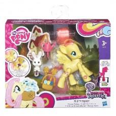 Детская Игровая фигурка для девочек Пони Флатершай с аксессуарами - Explore Equestria My Little Pony Hasbro
