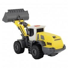 Игрушка Детская Для Мальчиков Экскаватор Либхер со звуковыми и световыми эффектами желтый 18 см Dickie Toys