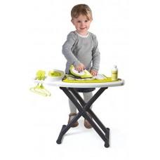 Детская Игрушечная Гладильная доска с утюгом и спреем со звуковыми эффектами с аксессуарами Tefal Smoby Смоби