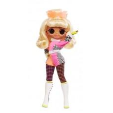 Игровой набор Большая Кукла ЛОЛ Леди Гонщица, 15 модных аксессуаров, 27 см - LOL Surprise! OMG Lights Speedster