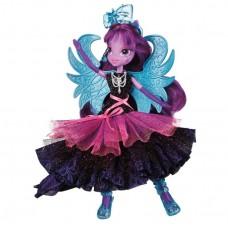 Кукла Твайлайт Спаркл Стиль Рок с блестящими крыльями - My Little Pony Twilight Sparkle Rainbow Rocks, Hasbro
