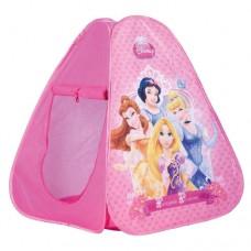 Детская Палатка Для Девочек Принцессы водонепроницаемая розовая, Disney Princess John Simba, 75х75х90 см