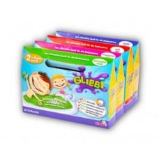 Набор Для Творчества и игр Цветная Слизь-желе для детской ванны или бассейна на 30 литров воды Glibbi Глибби
