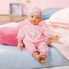 Детская Игровая Мягконабивная Кукла с соской Беби Бон Нежная кроха 32 см My Little Baby Born Zapf Creation