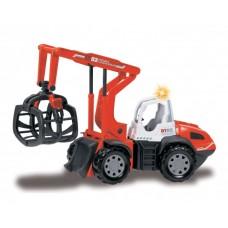 Игрушка Детская Для Мальчиков Машинка для Лесозаготовочных работ, звуковые и световые эффекты Dickie Toys