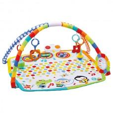 Детский Развивающий Музыкальный Игровой Комплекс Коврик Оркестр 3в1, 5 подвесных игрушек Fisher-Price