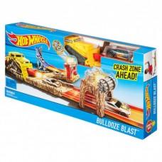 Детский Игровой Трек для машинок Хот Вилс Взрыв бульдозера с 1 машинкой Bulldoze Blast Hot Wheels Mattel 58678-14 tst-417940948
