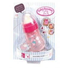 Бутылочка интерактивная розовая для детской игровой куклы Магическая Бэби Аннабель Baby Annabell Zapf Creation