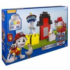 Детский Конструктор Щенячий патруль Игровой набор Маршала для детей младшего возраста 30 кубиков Paw Patrol