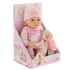 Детская Игровая Кукла Моя первая малышка с бутылочкой Бэби Аннабель 36 см My first Baby Annabell Zapf Creation