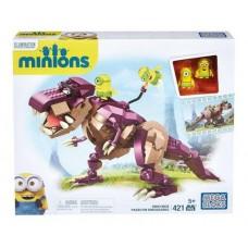 Детский Игровой Развивающий Набор Конструктор Верхом на динозавре Миньоны 421 деталь Mega Bloks Dino Ride