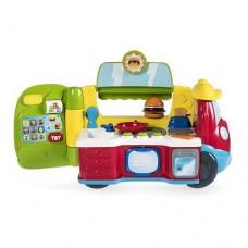 Детский Игровой Набор Музыкальный Фургон-Кухня двуязычная обучающая игрушка 2-в-1 на колесах Chicco Чико 59088-14 tst-607712955