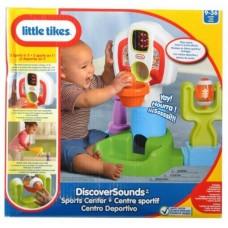 Развивающий Детский Игровой набор Спортивный центр со звуковыми эффектами Little Tikes Литл Тайкс 39х23х41 см