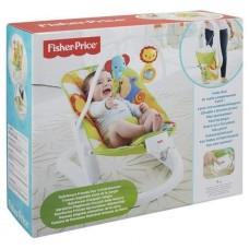 Детский Портативный Шезлонг для малышей, легкая вибрация, съемная дуга с игрушками, ремень безоп. Fisher-Price 59128-14 tst-616578485