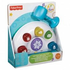 Развивающая Музыкальная игрушка Стучалка для малышей Лавочка с молоточком со световыми эффектами, Fisher price