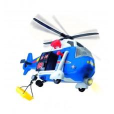 Игрушка для мальчиков: Вертолет Службы спасения со спасательной люлькой, свет и звуковые эффекты - Dickie Toys