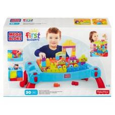 Детский Игровой Развивающий Стол для конструирования Строй и развивайся Мега Блокс - Mega Bloks First Builders