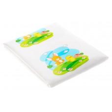 Детская Долговечная мягкая Клеенка непромокаемая на кровать с рисунком лисенка 76х58,5 см Canpol Babies Канпол