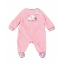 Детская Игровая Одежда Ползунки розовые с овечками для куклы пупса Бэби Борн 46 см Baby Born Zapf Creation