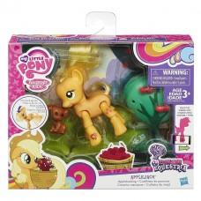 Детский Игровой Набор Для Девочек Пони Эплджек с артикуляцией и аксессуарами Applejack My little Pony Hasbro