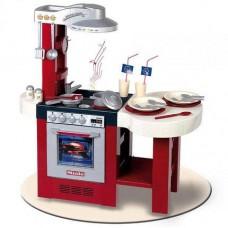 Детский Игрушечный Набор Для Девочек Кухня красная с аксессуарами со звуком Miele Gourmet Deluxe Klein Кляин