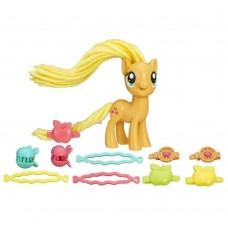 Игровой Набор Эплджек Праздничные прически Моя Маленькая Пони - My Little Pony Twisty Twirly Hairstyles, Hasbro