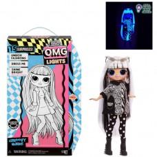 Игровой набор Большая Кукла ЛОЛ Крошка Груви, 15 аксессуаров 27 см - LOL Surprise! OMG Lights Groovy Babe MGA