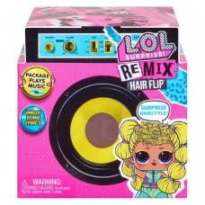 Игровой набор ЛОЛ Музыкальный сюрприз Ремикс Прически с 15 сюрпризами и куколкой - LOL Surprise! Remix Hairflip