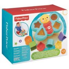 Детский Развивающий Игровой Сортер для самых маленьких объемный с формочками Бабочка разноцветная Fisher-Price