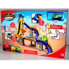 Детский Игровой Набор с Высокоскоростными Поездами Тормозной путь с Коко Чаггингтон Chuggington TOMY Томи