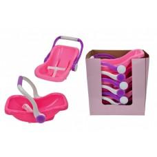 Многофункциональное Детское Игровое Авто-Кресло переноска для пупса Baby Born розовое 43 см SIMBA Симба 58729-14 tst-443564528