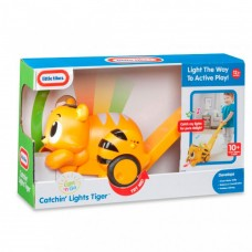 Развивающая Детская Игрушка каталка Тигр со световыми и звуковыми эффектами 75х12х27см Little Tikes Литл Тайкс