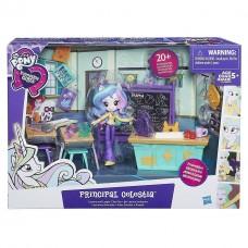 Детский Игровой Набор с Мини-Куклой для Девочек из Серии Пижамная вечеринка Директриса Селестия My Little Pony