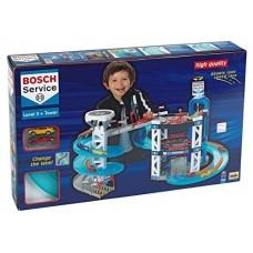 Игровой набор Многофункциональный Паркинг Bosch с вертолетной площадкой, спуском, 2 машинками 85х67х52см Klein