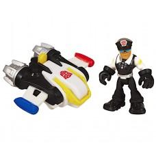 Детский Игровой Набор Джек Трекер с реактивным ранцем Боты спасатели 6 см - Billy&Jet Pack, Rescue Bots, Hasbro
