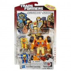 Трансформер-автобот Скуп - Scoop, Deluxe Class, 30th Transformers, Generations, Hasbro