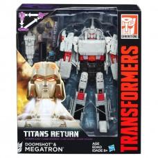 """Трансформер Мегатрон и Думшот """"Возвращение Титанов"""" - Doomshot & Megatron, Titans Return, Voyager, Hasbro"""