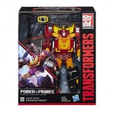 Трансформер 4в1 Родимус Прайм + Хот Род 23см - Rodimus + Hot Rod, Power of the Primes, Leader Class, Hasbro